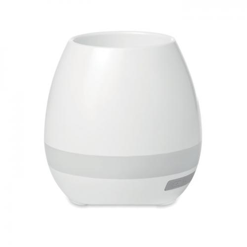 Głośnik w kształcie doniczki biały