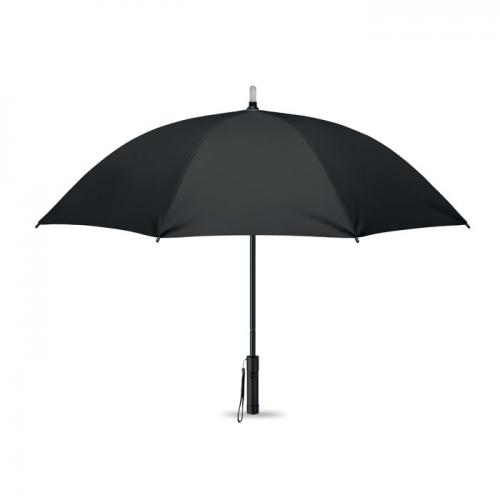 Parasol z lampką czarny