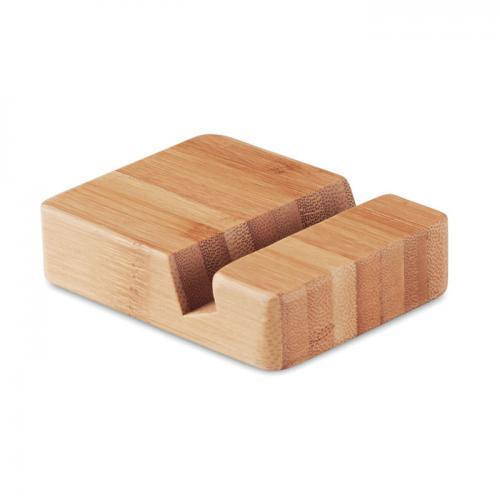 Stojak na smartfon drewna