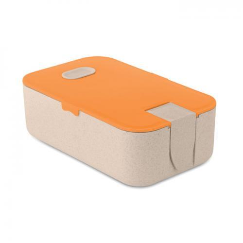 Lunchbox pomarańczowy