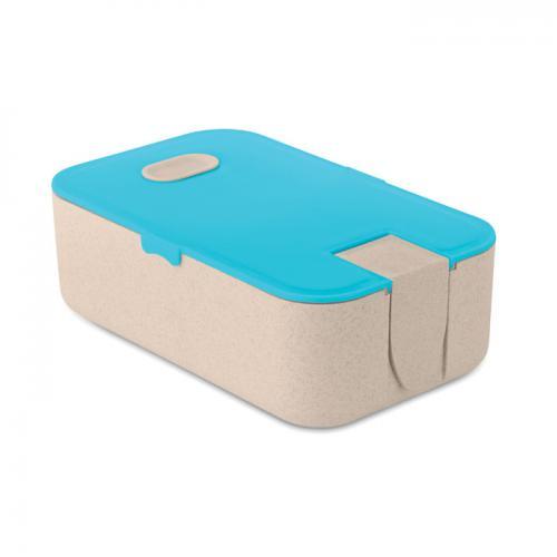 Lunchbox turkusowy