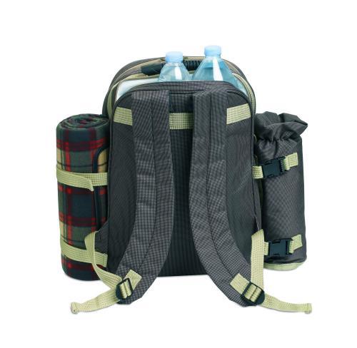 Luksusowy piknikowy plecak brązowy