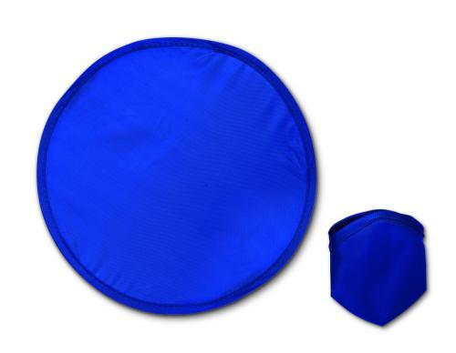 Nylonowe, składane frisbee granatowy