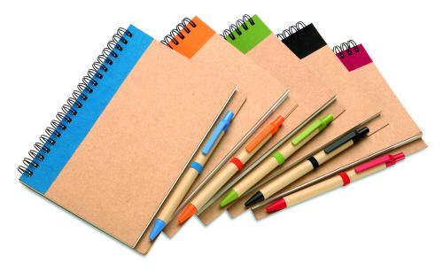 Notes z długopisem granatowy