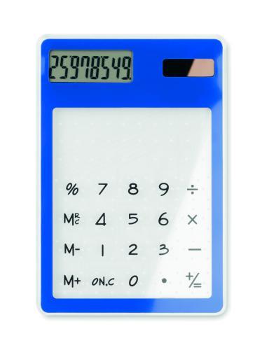 Kalkulator, bateria słoneczna granatowy