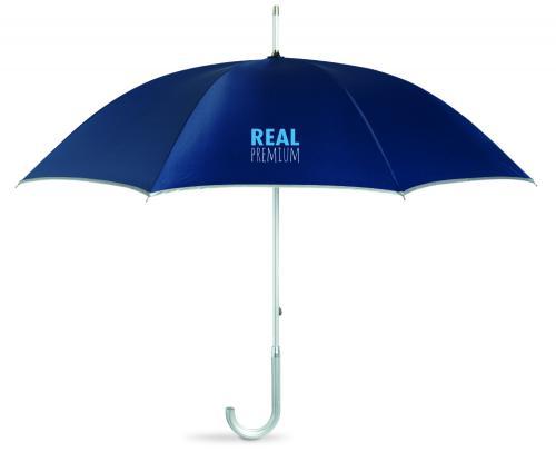 Luksusowy parasol z filtrem UV granatowy
