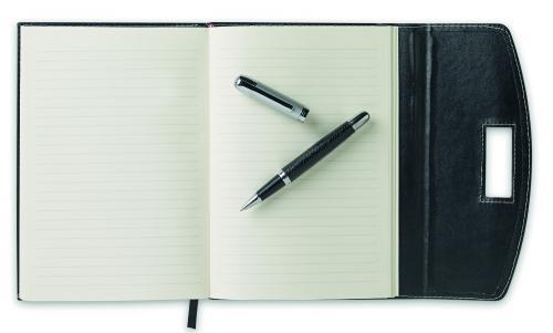 Notes A5 i długopis czarny