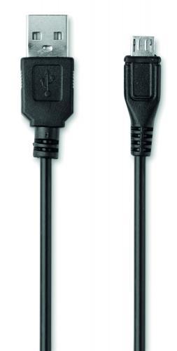Cienki PowerBank 2200mAh czarny