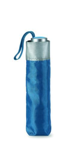 Parasol składany na 3 niebieski