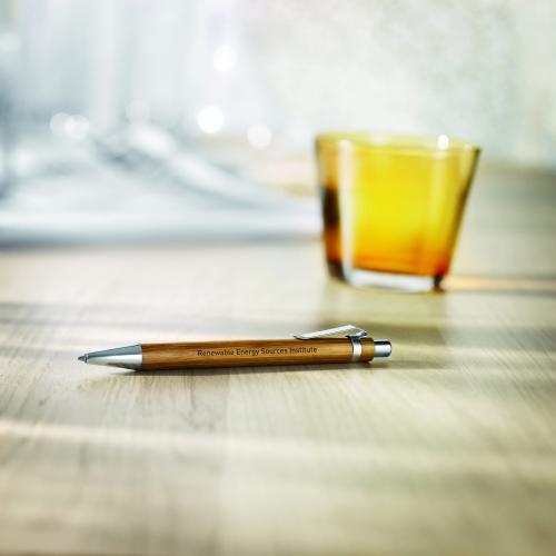 Bambusowy długopis drewna