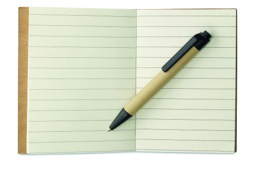 Notes z recyklingu czarny