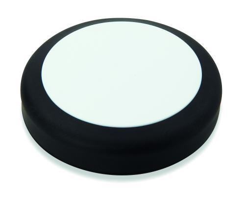 Słuchawki w silikonowym pudełk czarny