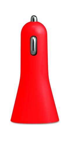 Ładowarka na USB. czerwony