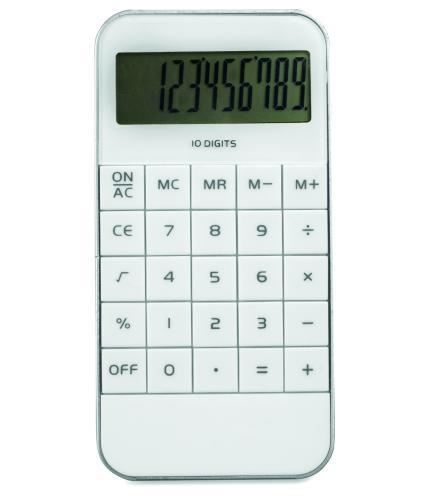 Kalkulator. biały