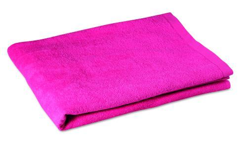 Ręcznik plażowy. fuksja