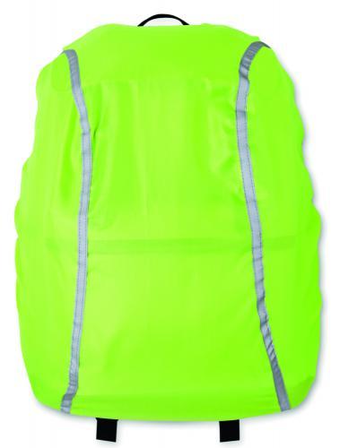Osłona na plecak fluorescencyjny zielony