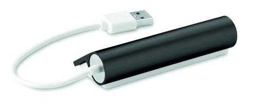 Hub USB czarny