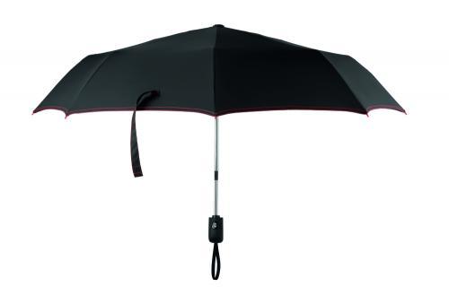 """Składana parasolka 21"""" czerwony"""