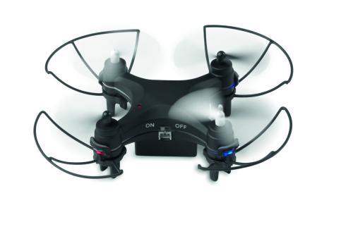 Dron czarny