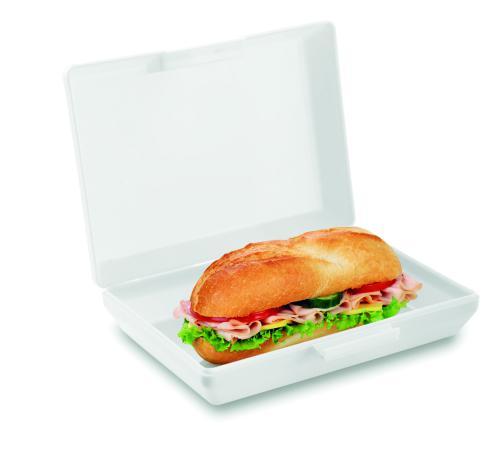 Pudełko śniadaniowe biały