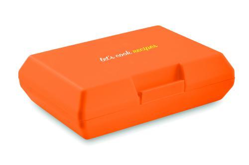 Pudełko śniadaniowe pomarańczowy
