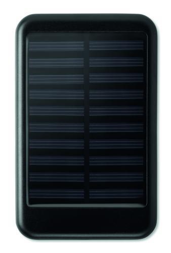 4000 mAH POWERBANK słoneczna czarny