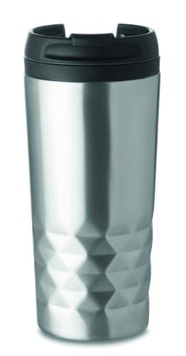Kubek termiczny srebrny mat
