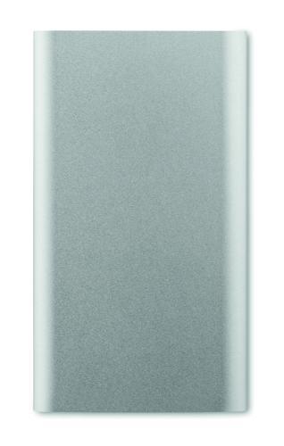 Powerbank 4000mAh srebrny mat