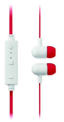 Słuchawki bluetooth czerwony