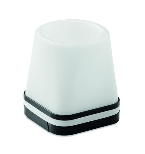 Hub USB-pojemnik na długopisy czarny