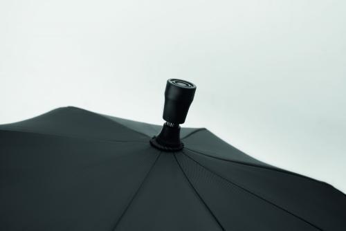 Parasol z laską czarny
