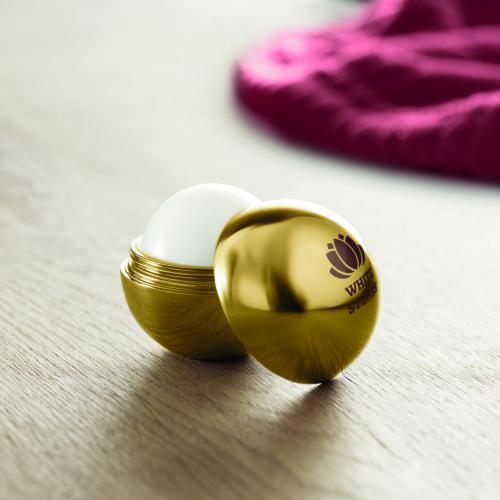 Balsam do ust matowy złoty