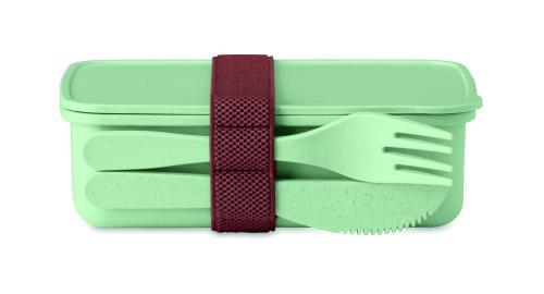 Pudełko na lunch zielony