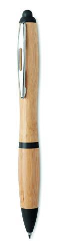 Długopis z bambusa czarny