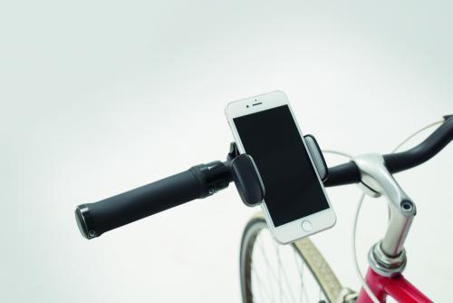 Uchwyt na telefon do roweru czarny