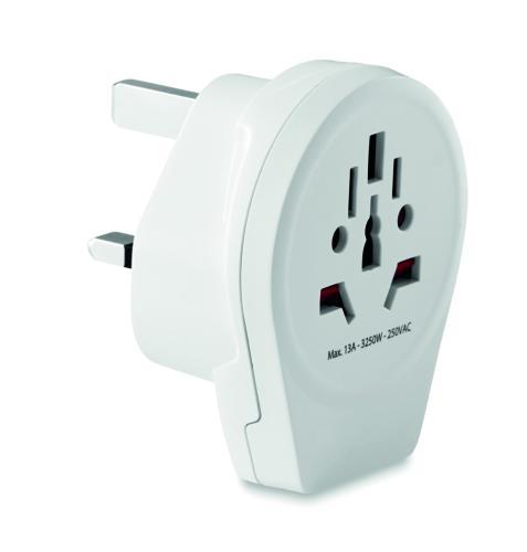 Adapter z USB biały