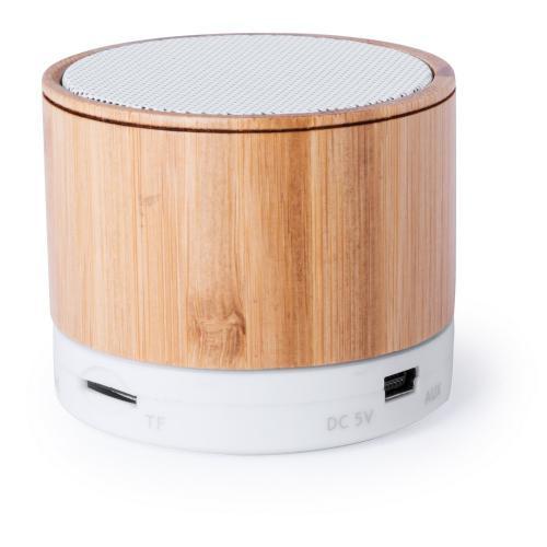 Głośnik bezprzewodowy 3W, radio brązowy