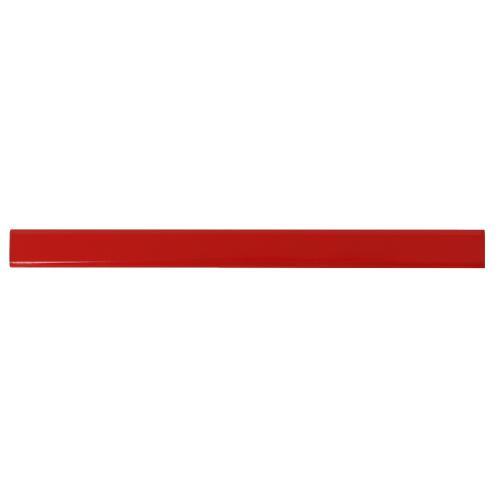 Ołówek stolarski, nienaostrzony czerwony