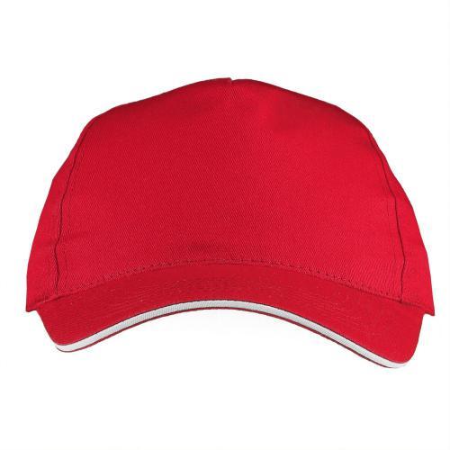 Czapka z daszkiem czerwony