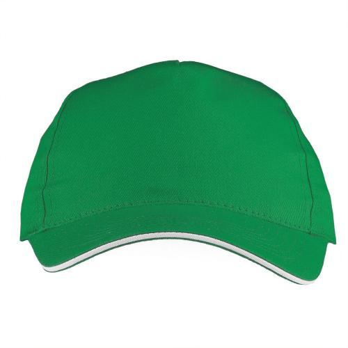 Czapka z daszkiem zielony