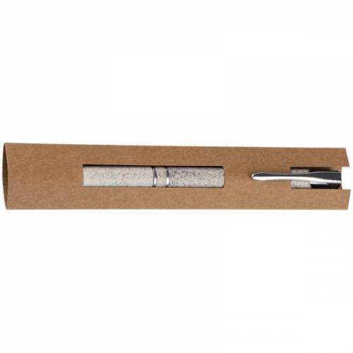 Długopis z włókna roślinnego PRAMORT beżowy
