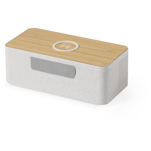 Głośnik bezprzewodowy 5W, ładowarka bezprzewodowa 10W neutralny