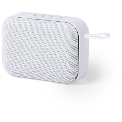 Głośnik bezprzewodowy 3W, radio biały