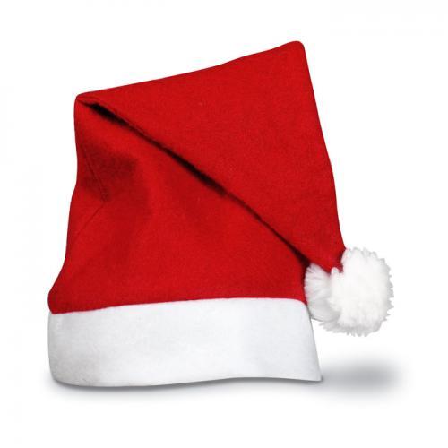 Świąteczna czapka czerwony