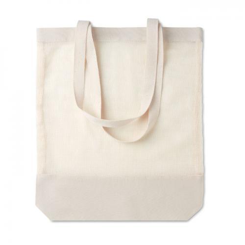 Bawełniana torba na zakupy beżowy