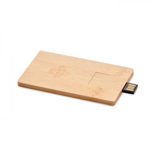 16GB USB: bambusowa obudowa drewna