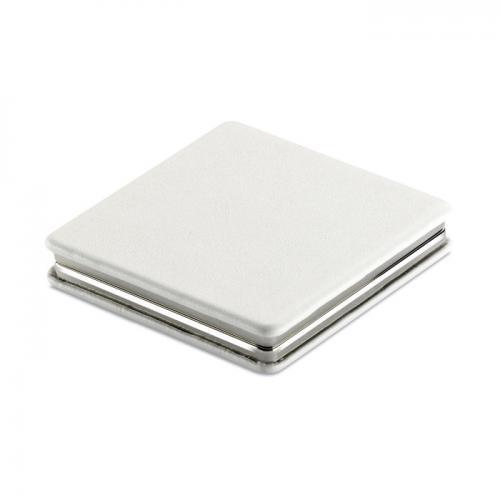Podwójne magnetyczne lusterko biały
