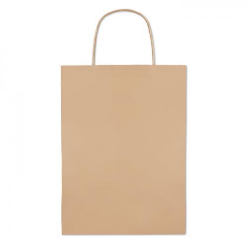 Paprierowa torebka śre 150 gr beżowy