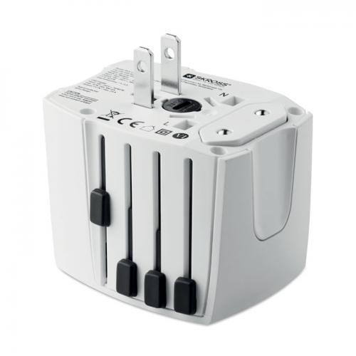 MUV USB. 2-pole biały