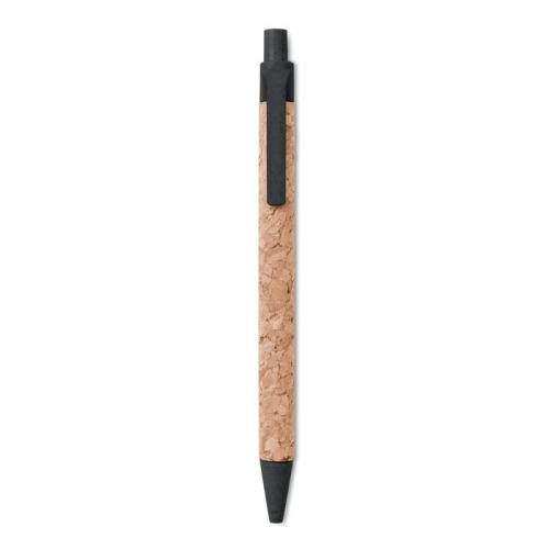 Długopis korkowy czarny